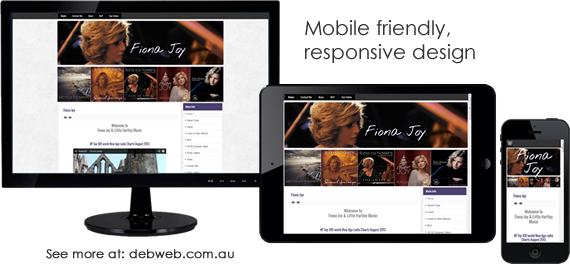 Mobile Friendly Web Design - see more at debweb.com.au